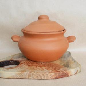 Глиняный горшок (2л) - терракотовый