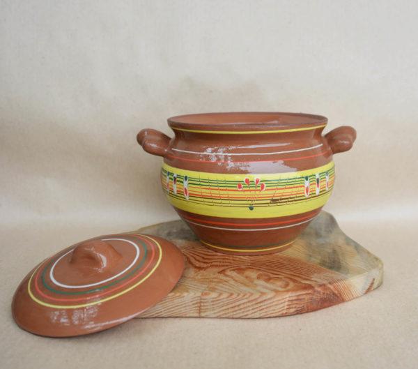 Глиняный горшок (2л) - 'Жар-птица'
