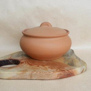 Глиняный горшок (1,6л) -  терракотовый