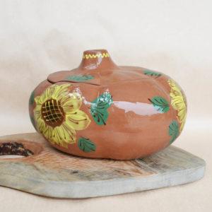 Глиняная жаровня (2,5л) - 'Ван Гог'