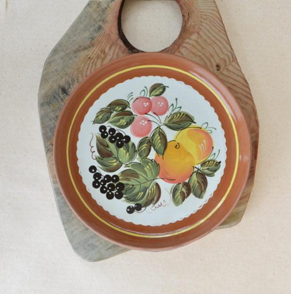 Тарелка (22см) - 'Фруктовый сад'