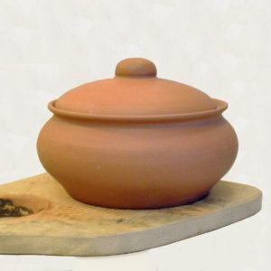 Глиняный горшок (2,5л) - терракотовый