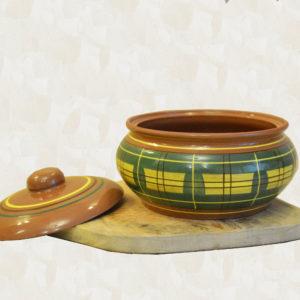 Глиняный горшок (2,5л) - 'Шотланка'
