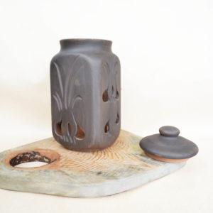 Керамический горшок для чеснока (1,7л)