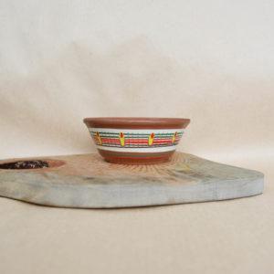 Глиняная миска (0,35л) - 'Жар-птица'