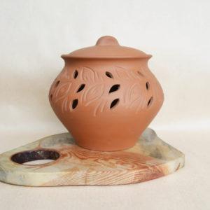 Глиняный горшок для хранения овощей №1 (3,5л)