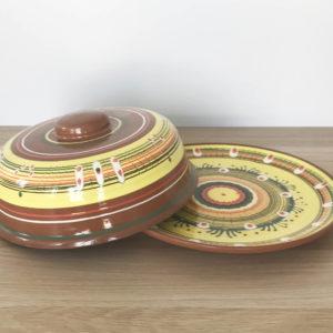 Глиняная блинница (28 см)2390