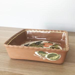 Квадратная глиняная форма