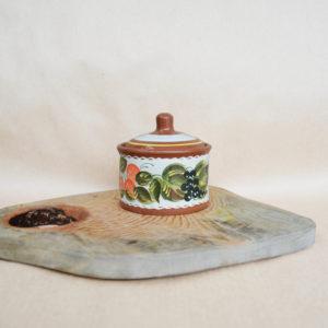 Глиняная банка «Фруктовый сад» (0,35л)