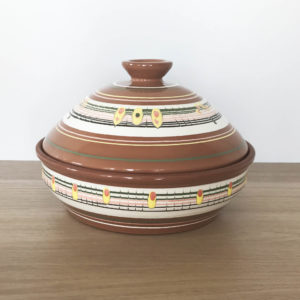 Блюдо для шашлыка (1,3л) роспись
