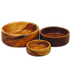 Салатница 'Орех' (20х7,5 см)