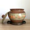 Глиняный горшок (4,5л) - 'Великан' роспись