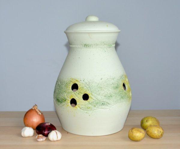 Жбан для хранения картофеля (15л) зеленый