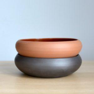 Тарелка для хаша (18см) - чернолощение