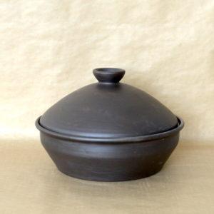 Блюдо для шашлыка (1,3л) чернолощение
