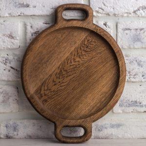 Большая тарелка 'Орех' (д-24 см)