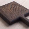 Мини-доска для сервировки Уголь