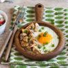 Сервировочная сковородка 'Орех' (д-18 см)