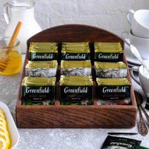 Деревянная подставка под чайные пакетики