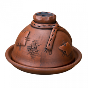 Масленка глиняная 'Мешок'